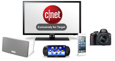 CNET Exclusively for Target.
