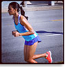 woman running. click here to open a new window to the Target C9 Instagram page