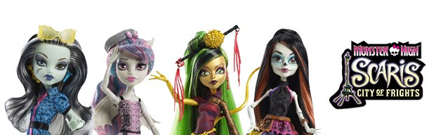 monster high scaris - city of frights