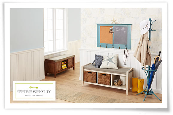 Foyer Table Target : Entryway seating bench decoration news