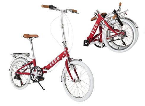 FEED USA + Target foldable bike