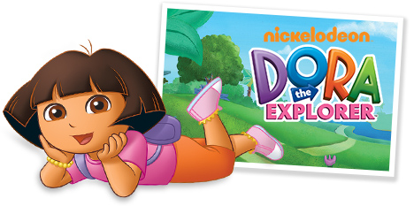 Nickelodeon - Dora loves boots