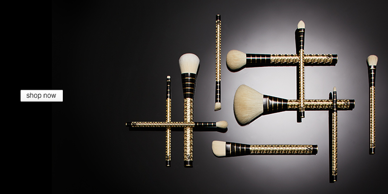 brush sets high on style, quality, and design, Shop Now
