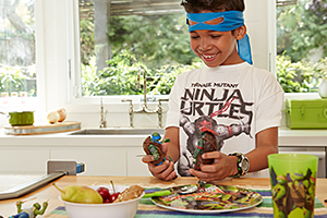 view details for start the day like a ninja & eat a healthy breakfast.