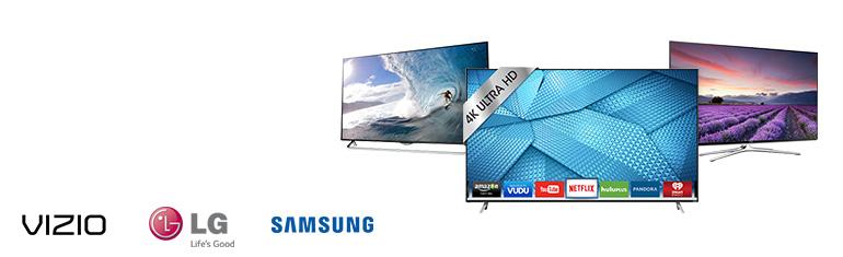 Vizio, LG & Samsung