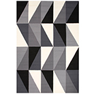 geometric & stripe rugs