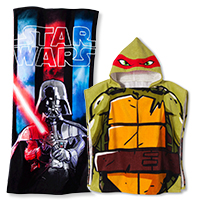 kids' beach towels