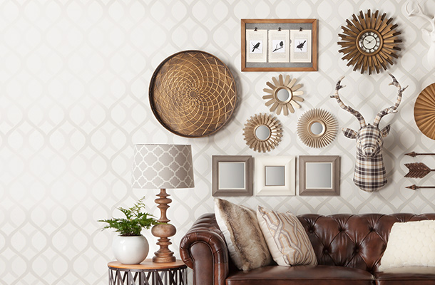 Wall accents Target blue home decor