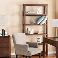 vertical bookcases