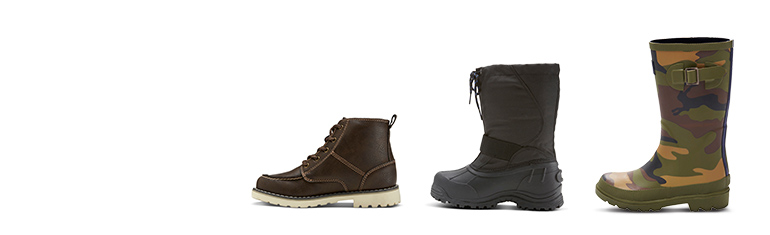 all boys' boots