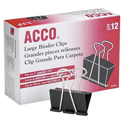 binders & paper clips