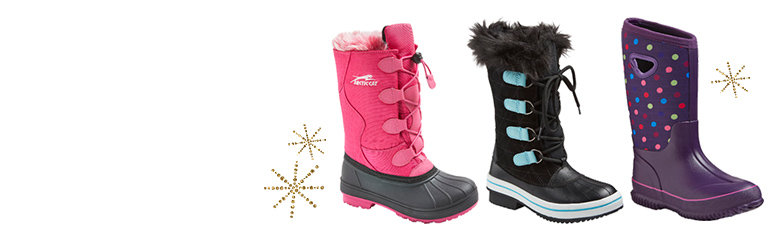 all girls' snow boots
