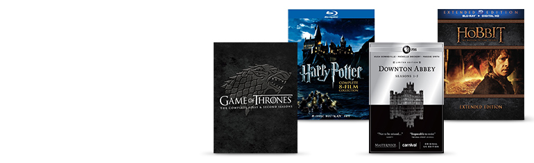 movie & TV box sets