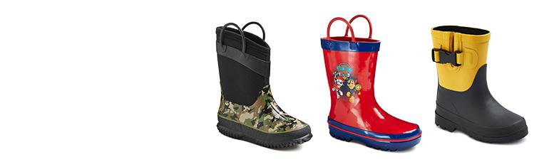 all boys' rain boots