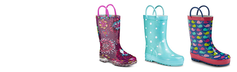 all toddler girls' rain boots