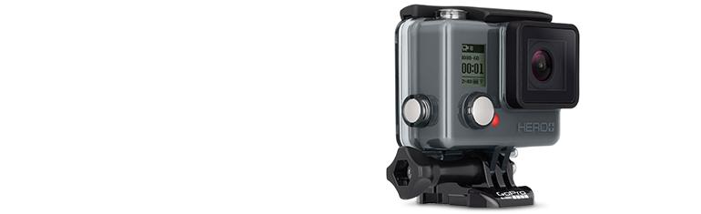 GoPro Camera HERO+ LCD HD Video Recording Camera - Black (CHDHB-101)