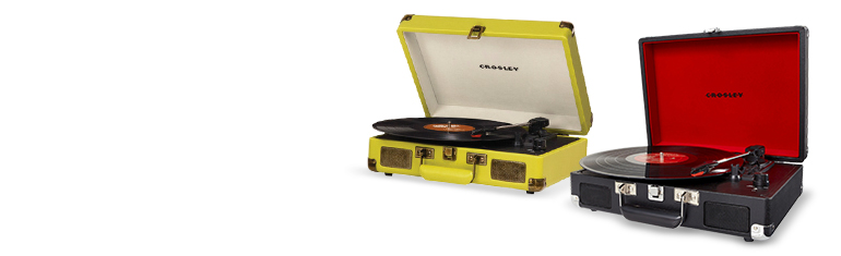 Crosley Cruiser Portable Turntables