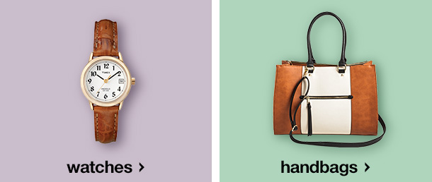 handbags & watches
