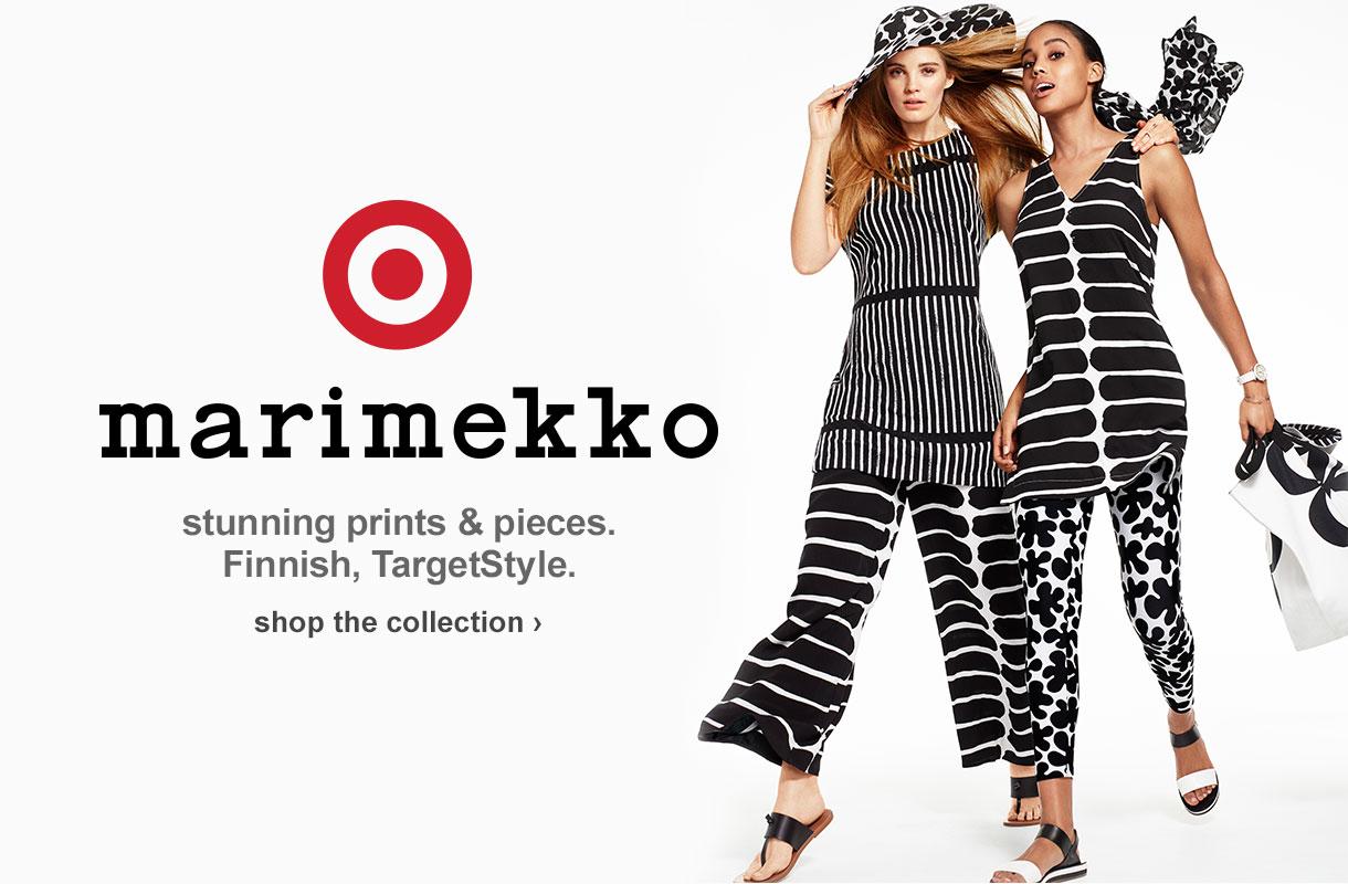 Marimekko. stunning prints & pieces. Finnish, TargetStyle. shop the collection.