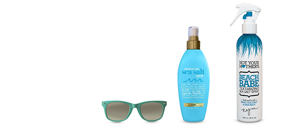 OGX Moroccan Sea & Not Your Mother's Beach Babe Sea Salt Spray