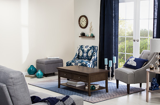 Living room furniture category page
