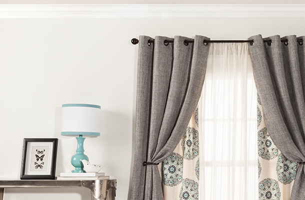 Rods more in every style curtain panels sheer curtains curtain rods