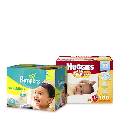 Huggies packs