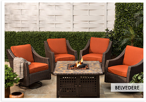fire pit patio sets
