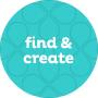 find & create