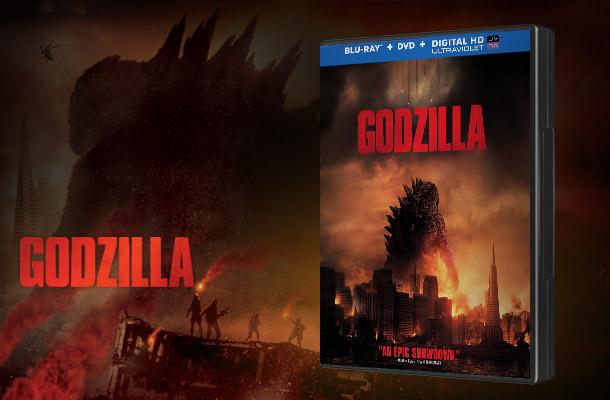 Godzilla on Blu-ray & DVD
