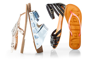 Wallets and wedges fashion